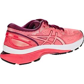 asics Gel-Nimbus 21 Buty do biegania Kobiety, pink cameo/bakedpink
